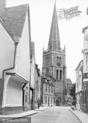 Abingdon, St Helen's Church c.1960