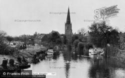 Abingdon, St Helen's Church c.1960