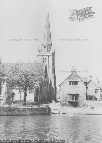 Photo of Abingdon, St Helen's Church c.1965