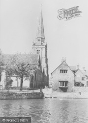 Abingdon, St Helen's Church c.1965