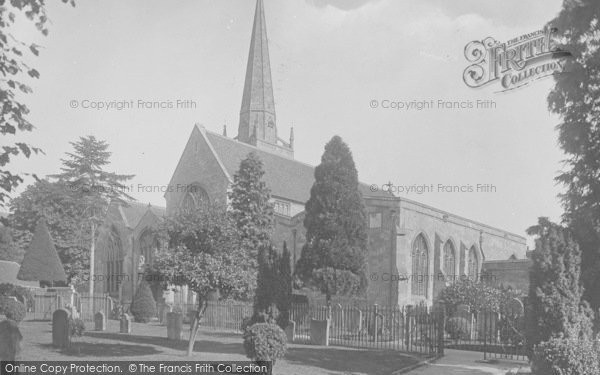 Photo of Abingdon, St Helen's Church, South West 1924