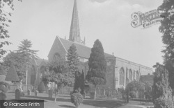 Abingdon, St Helen's Church, South West 1924