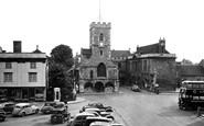Abingdon, St Nicholas' Church And Guildhall c.1955