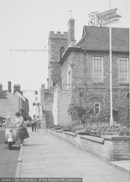 Photo of Abingdon, St Nicholas' Church c.1960