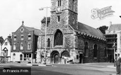 Abingdon, St Nicholas' Church c.1960