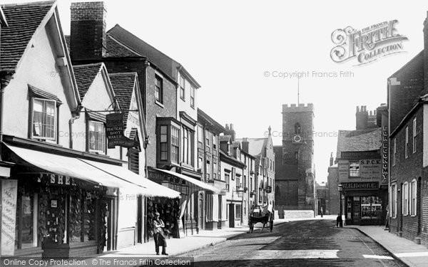 Photo of Abingdon, Stert Street 1893