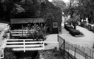 Abingdon, Tea Gardens c.1960