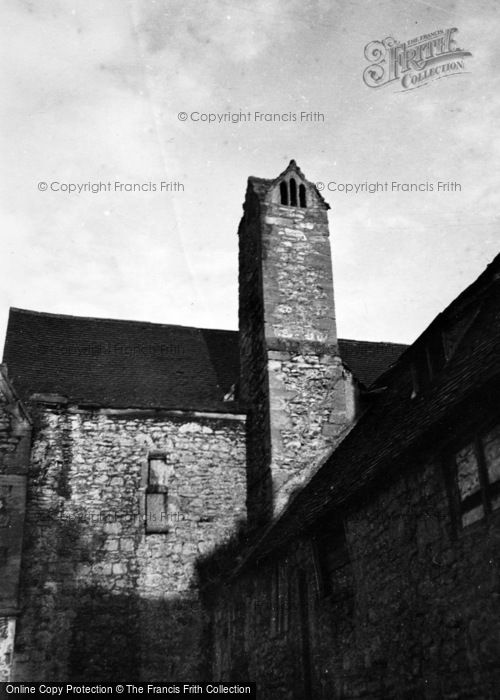 Photo of Abingdon, The Abbey, Checker Building Chimney c.1950