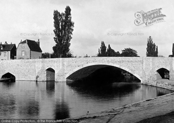 Photo of Abingdon, The Bridge 1925