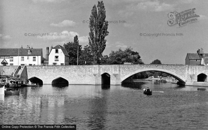 Photo of Abingdon, The Bridge c.1950