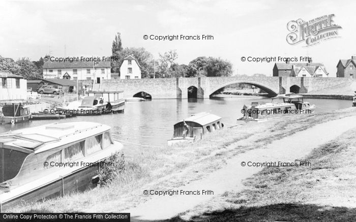 Photo of Abingdon, The Bridge c.1965