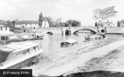 Abingdon, The Bridge c.1965