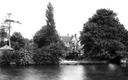 Abingdon, the Cosener's House from the River 1893