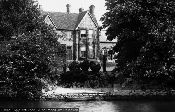 Photo of Abingdon, The Cosener's House From The River Thames 1893