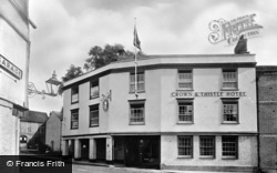 Abingdon, The Crown And Thistle Hotel c.1955