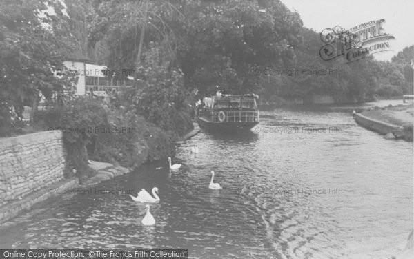 Photo of Abingdon, The Landing Place c.1950