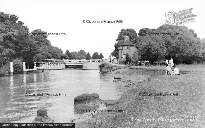 Photo of Abingdon, The Lock c.1960