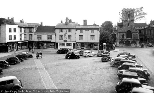 Photo of Abingdon, The Market Place c.1955