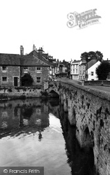 Abingdon, The Old Bridge c.1955