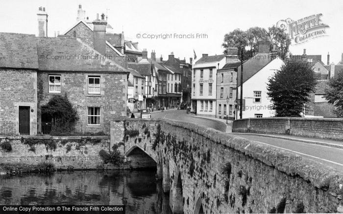 Photo of Abingdon, The Old Bridge c.1955