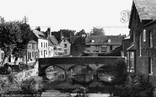 Photo of Abingdon, The Old Mill c.1955