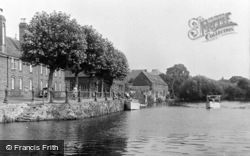 Abingdon, The Old Thames Landing c.1950
