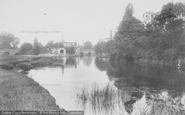 Photo of Abingdon, The River 1900