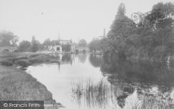 Abingdon, The River 1900