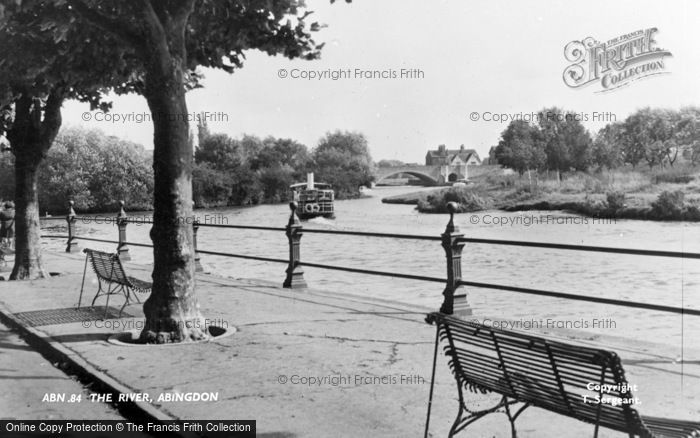 Photo of Abingdon, The River c.1955