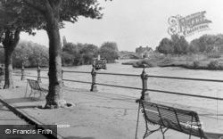 Abingdon, The River c.1955