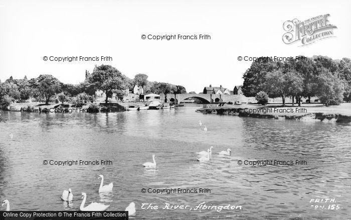 Photo of Abingdon, The River c.1960