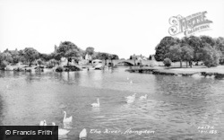 Abingdon, The River c.1960