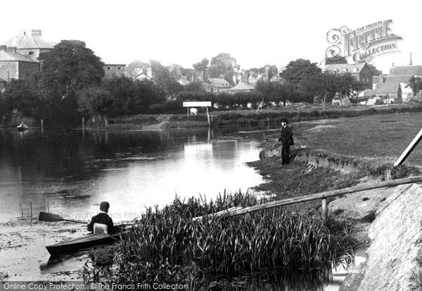 Abingdon, The River Thames 1890