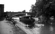 Abingdon, The River Thames And Bridge c.1950