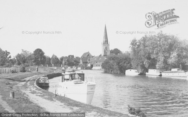 Photo of Abingdon, The River Thames c.1955