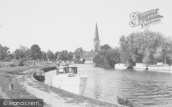 Abingdon, The River Thames c.1955