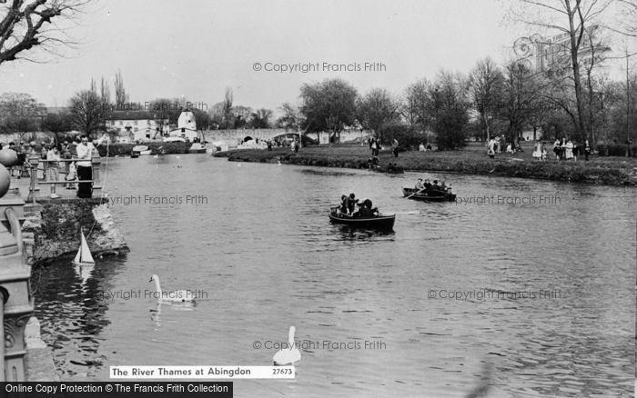Photo of Abingdon, The River Thames c.1960