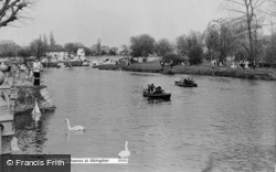 Abingdon, The River Thames c.1960
