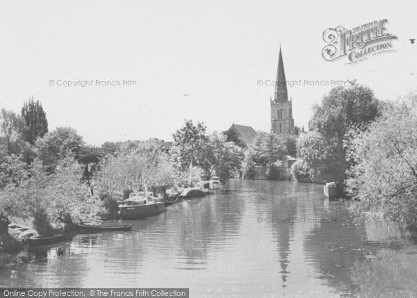 Photo of Abingdon, The River Thames c.1965