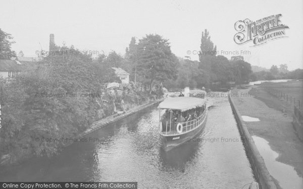 Photo of Abingdon, The Thames 1925