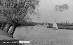 Abingdon, The Thames c.1960
