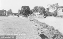 Abingdon, The Two Bridges c.1955