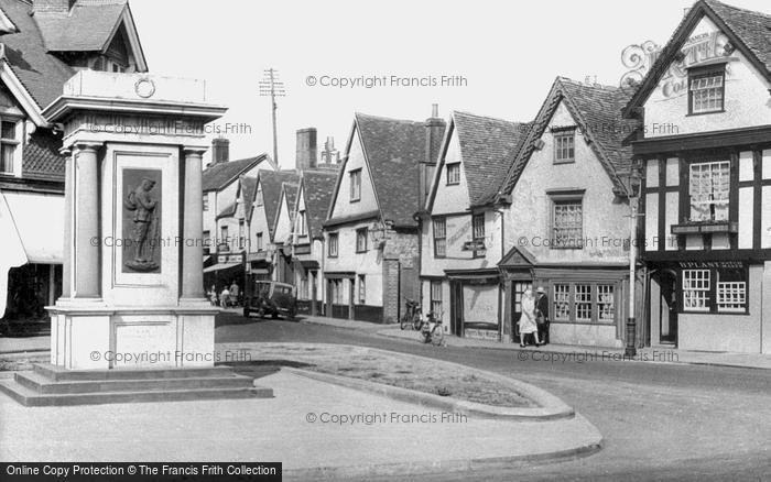 Photo of Abingdon, The War Memorial c.1950
