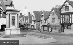 Abingdon, The War Memorial c.1950