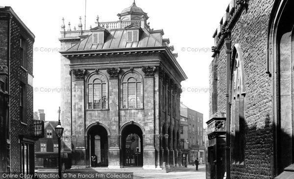 Photo of Abingdon, Town Hall 1890