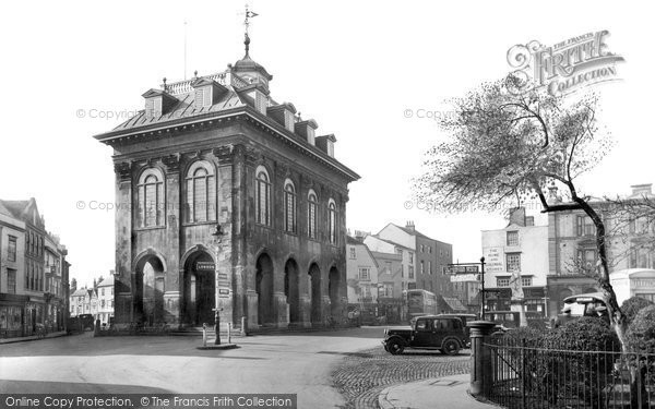 Photo of Abingdon, Town Hall 1924