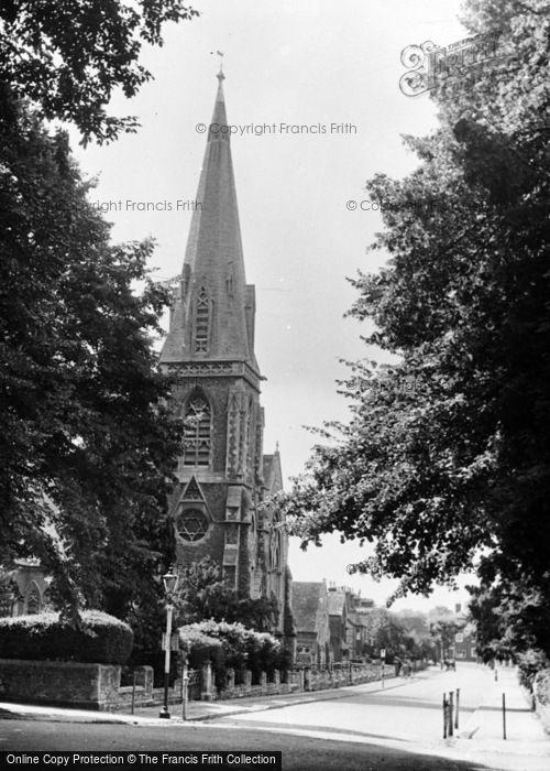 Photo of Abingdon, Trinity Church c.1955