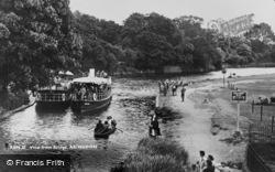 Abingdon, View From Bridge c.1950
