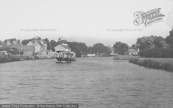 Photo of Abingdon, View From River Thames c.1950