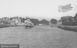 Abingdon, View From River Thames c.1950